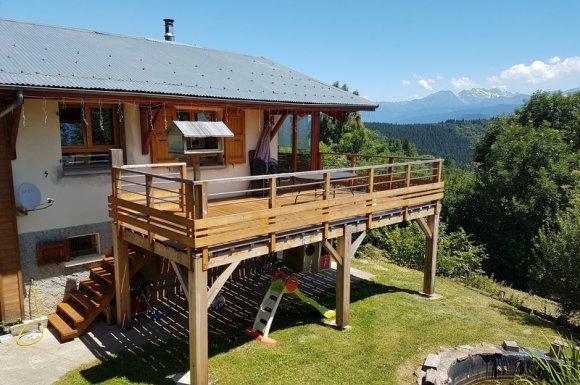 Terrasses en bois sur mesure Chambéry