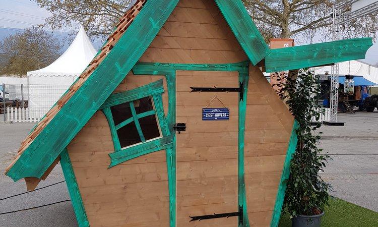 Abri de jardin innovant et atypique pour le Salon de Habitat & Jardin de Chambéry (Savoie – 73)