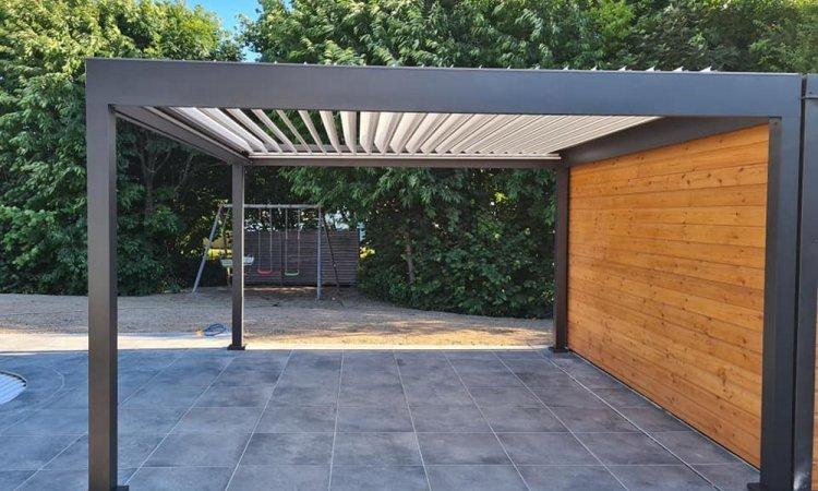 Abri de jardin moderne et chic à La Ravoire (Savoie – 73)