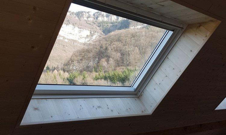 Modification de charpente et Aménagement de combles à Vérel Pragondran (Savoie – 73)