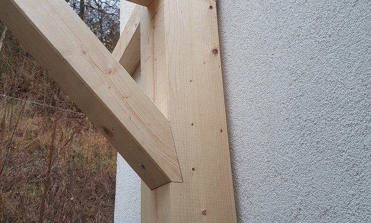 Réalisation d'un appentis de 12m² – Pont de Claix (Isère – 38)